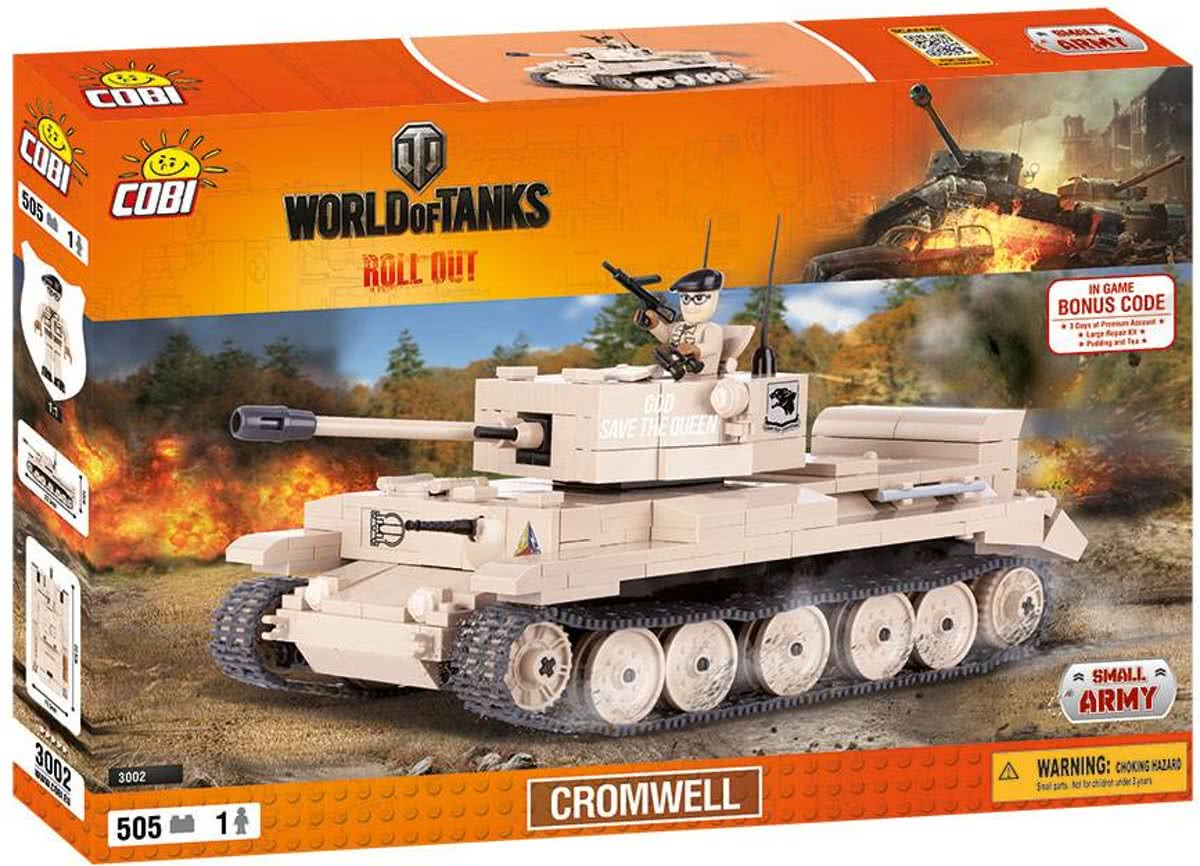 Cobi Small Army World of Tanks - CROMWELL (3002)