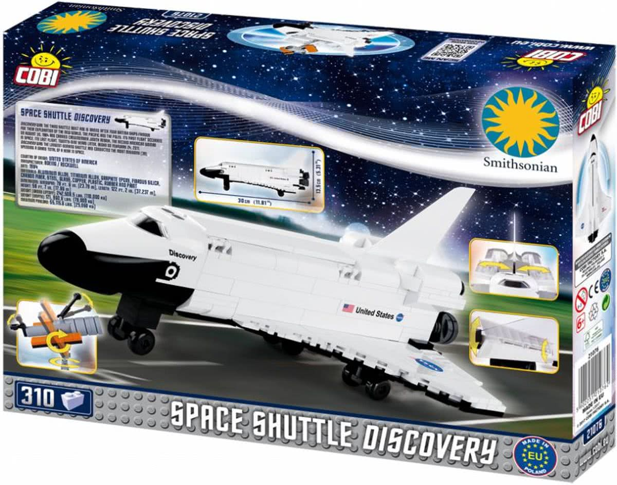 Cobi Smithsonian - Space Shuttle Discovery (21076)