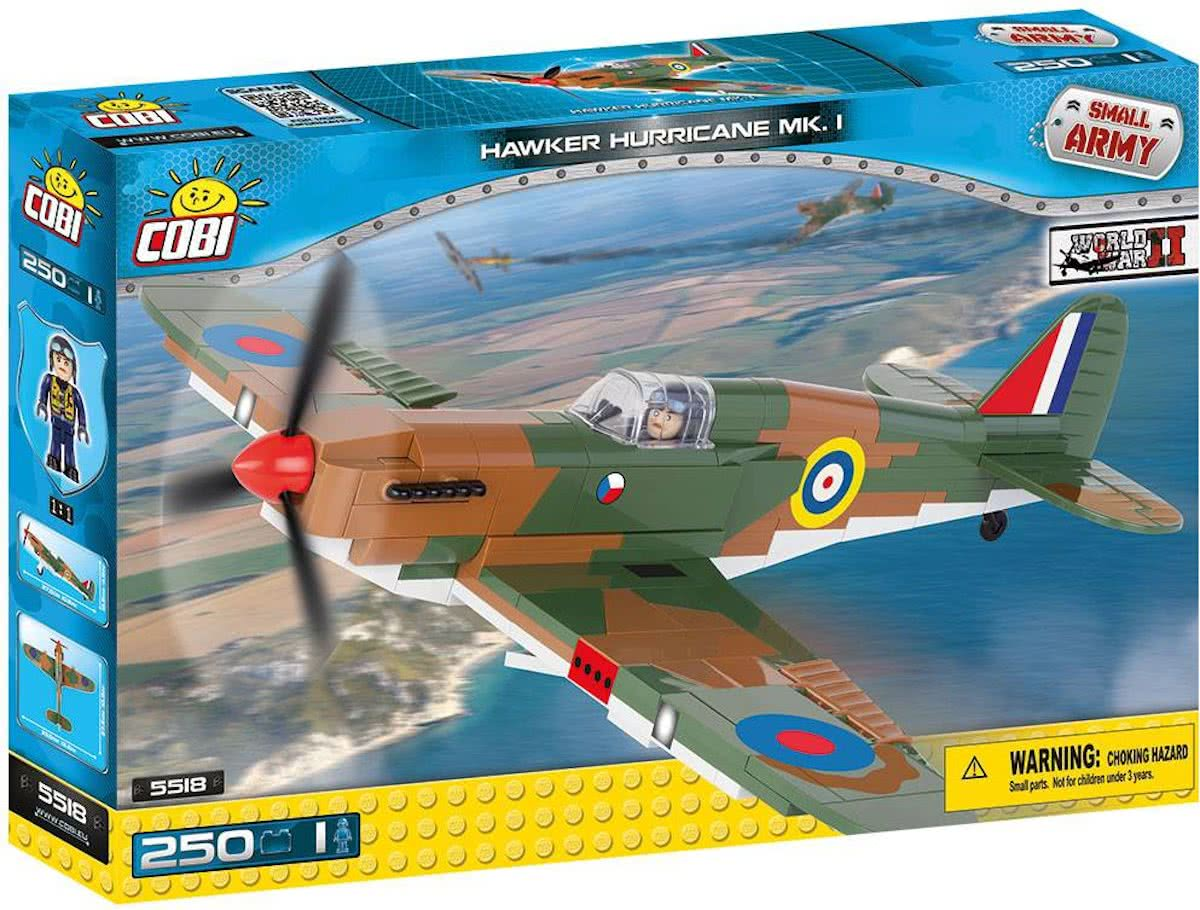 Small Army WW2 - Hawker Hurricane MK.1 (5518)Cobi