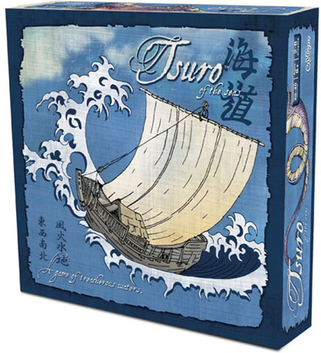 Tsuro of the Seas - Engelstalig Bordspel