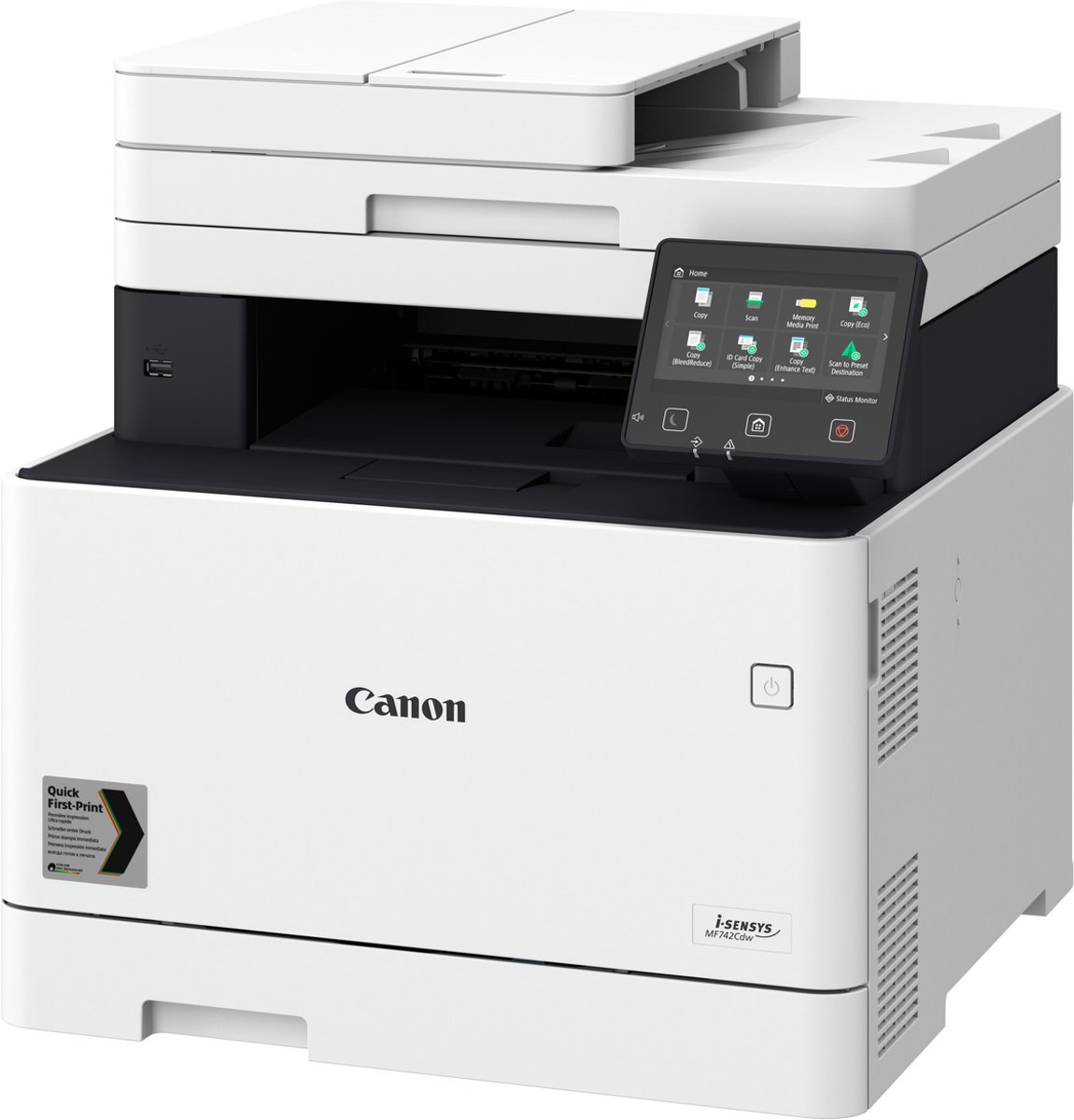 i-SENSYS MF742Cdw - All-in-One Laserprinter / Wit