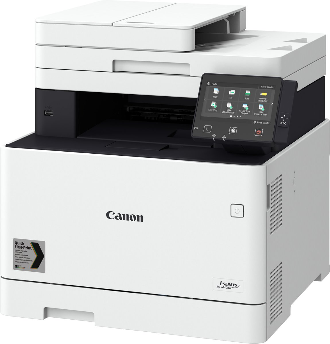i-SENSYS MF744Cdw - All-in-One Laserprinter / Wit