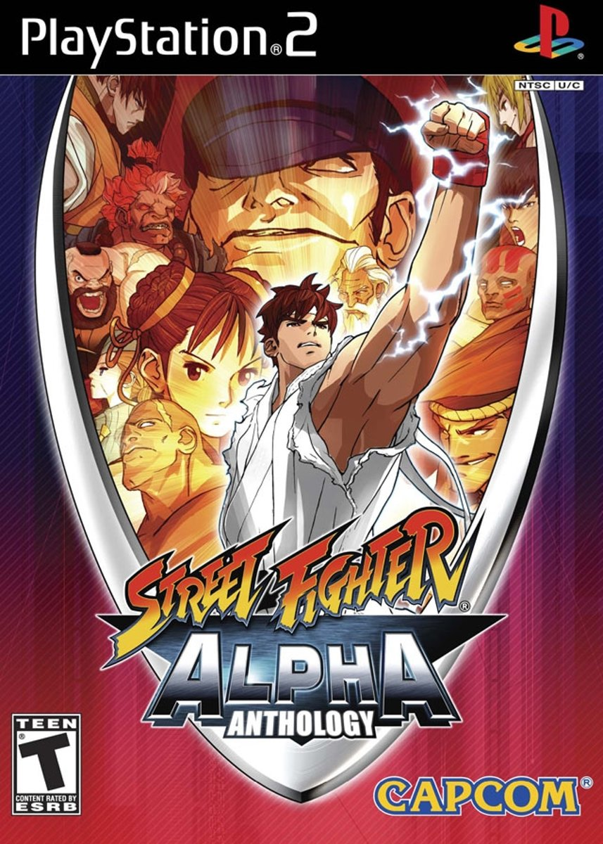 Street Fighter Alpha Anthology, PS2,