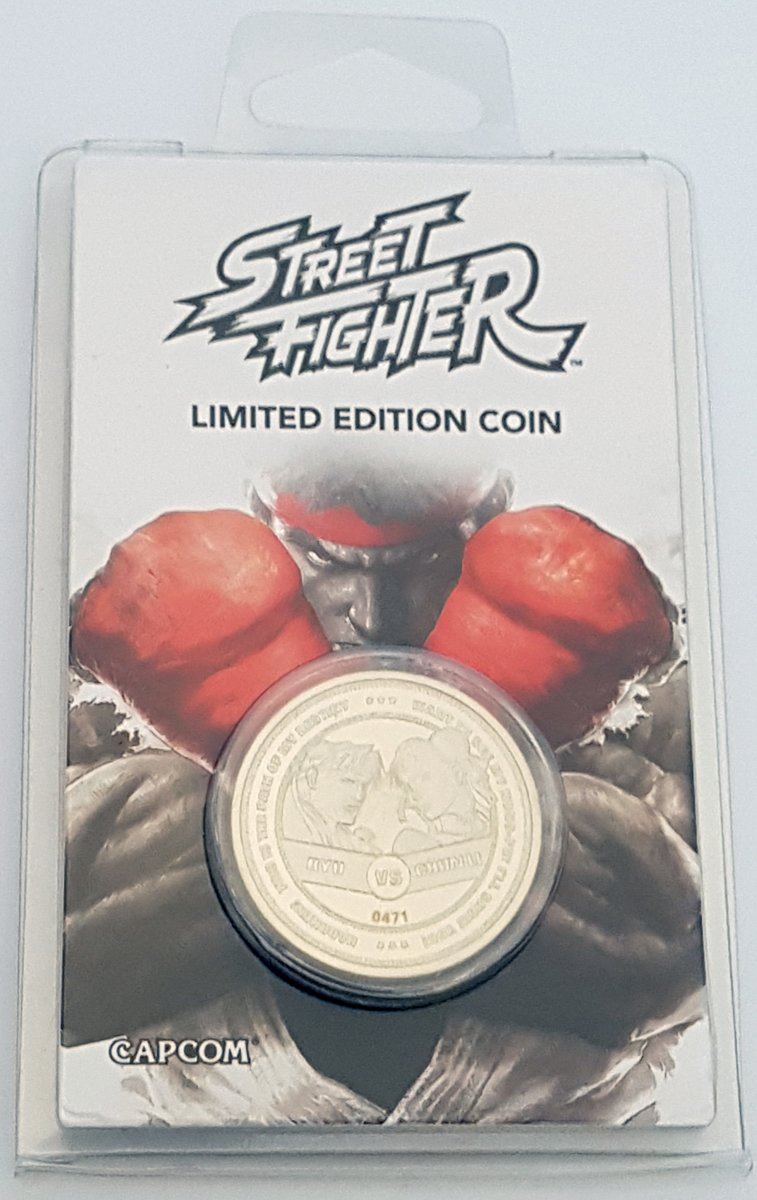 Street Fighter Limited Edition Verzamelmunt