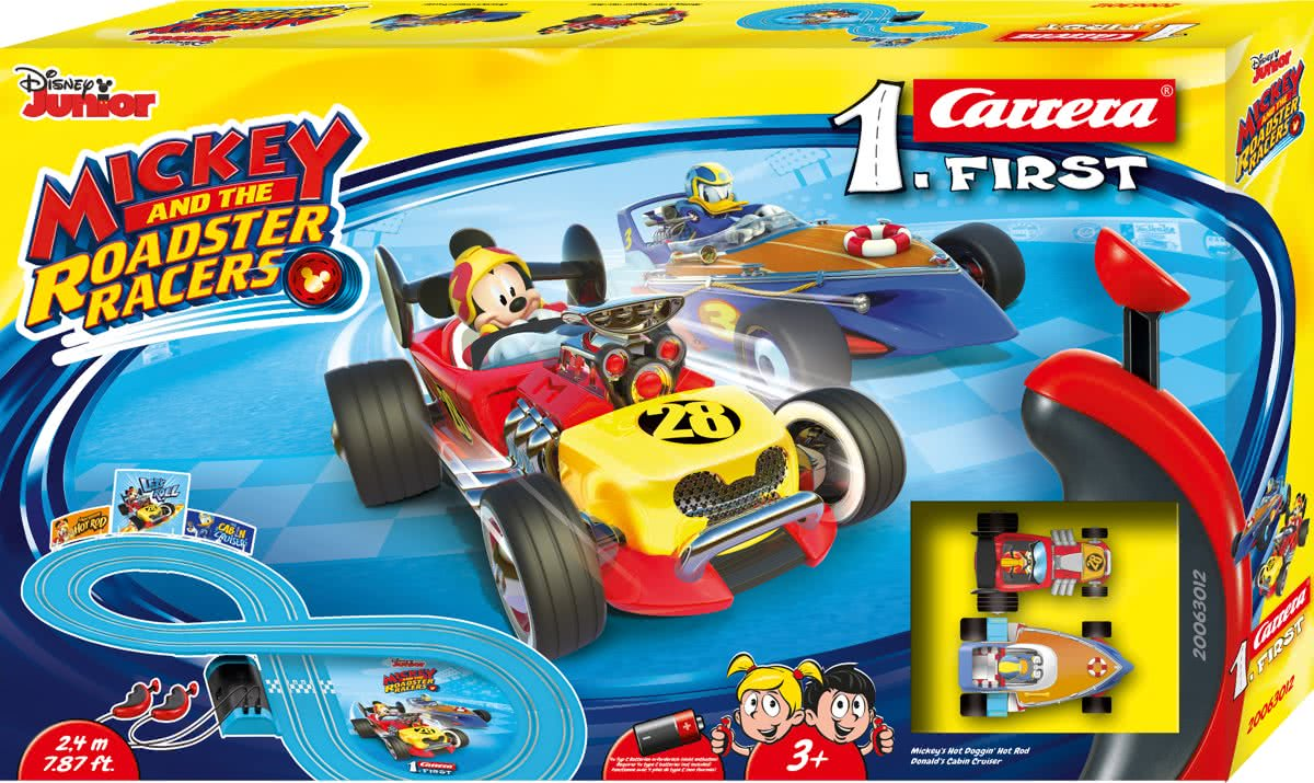 First Mickey Roadster Racers -