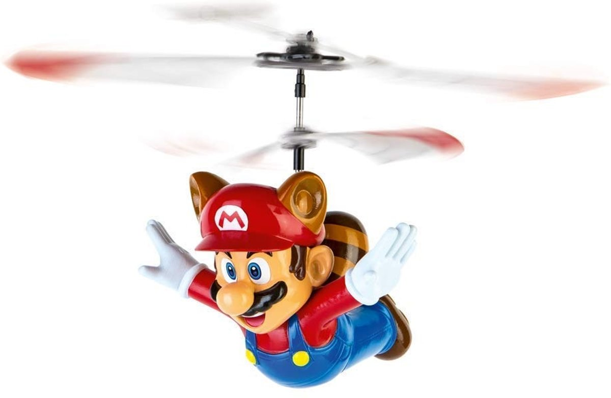 RC Flying Raccoon Mario Helikopter