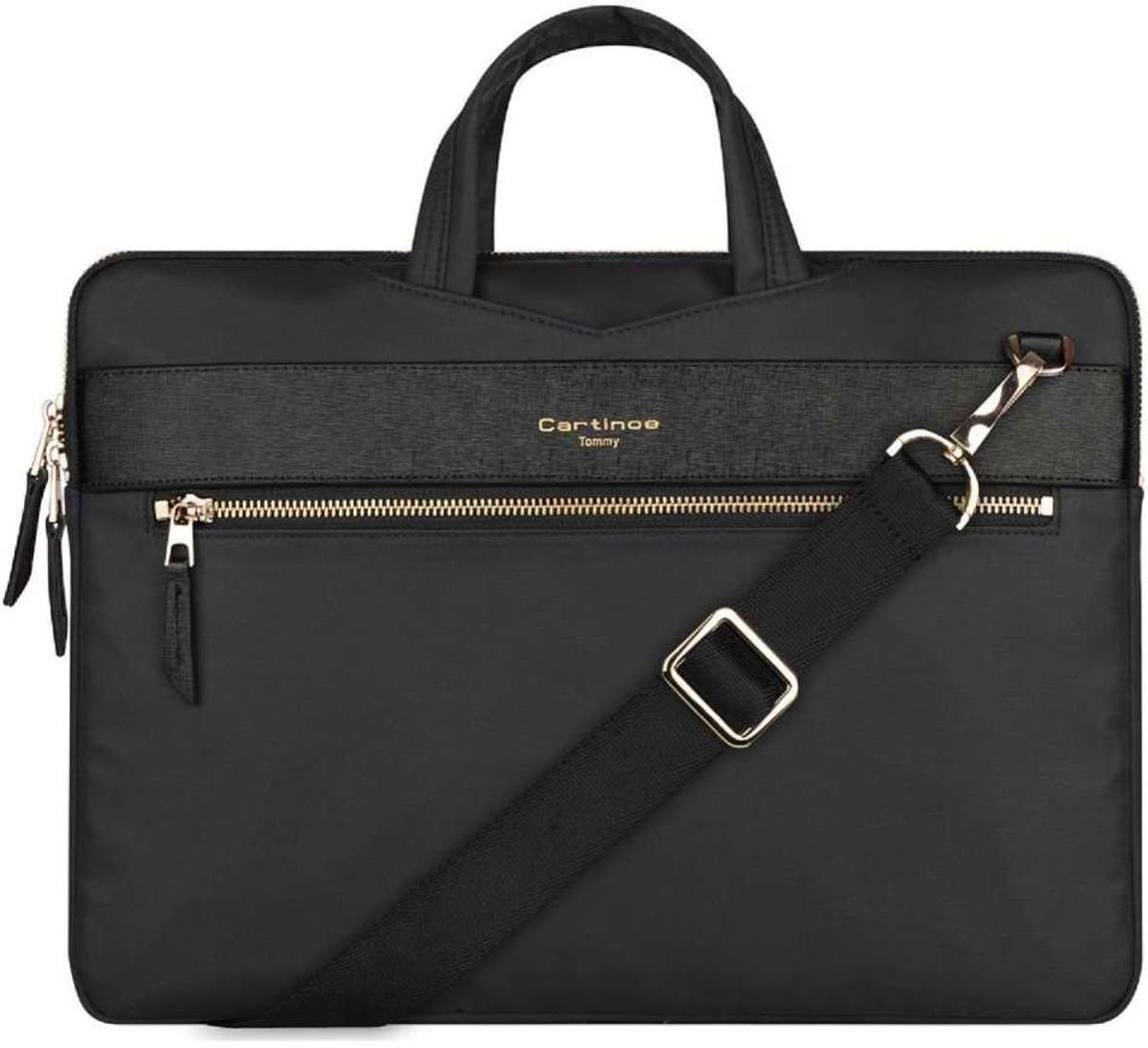 Cartinoe Tommy MacBook Air/Pro Briefcase 13 inch - Zwart