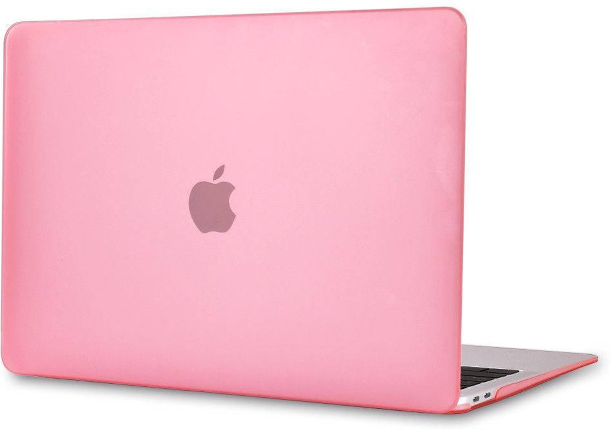 Macbook Air 13 inch 2018 - Clip-On Hard Case - Roze