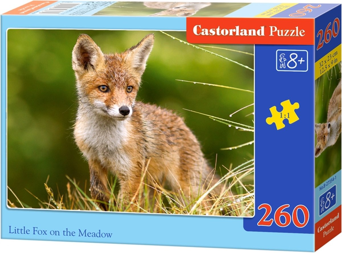 Little Fox on the Meadow - 260 stukjes