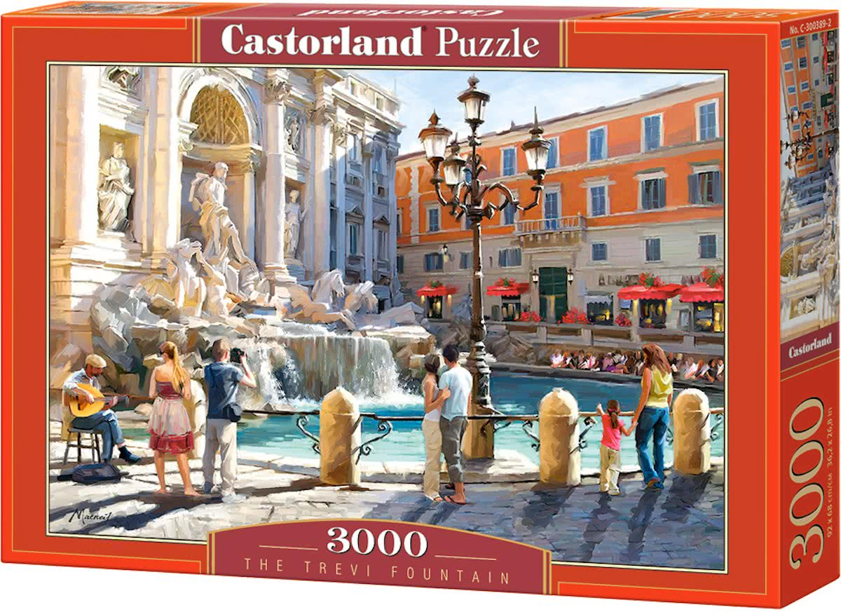 The Trevi Fountain - 3000 stukjes