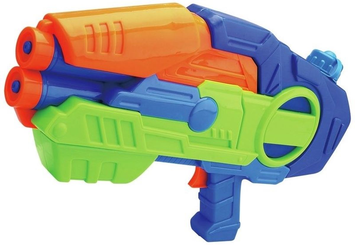 waterpistool met quick-pump action