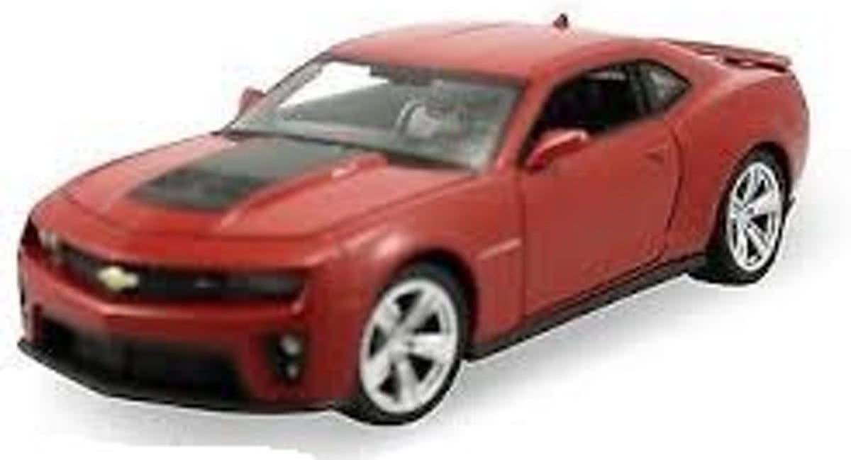 Chevrolet Camaro ZL1 1-24 Rood Welly