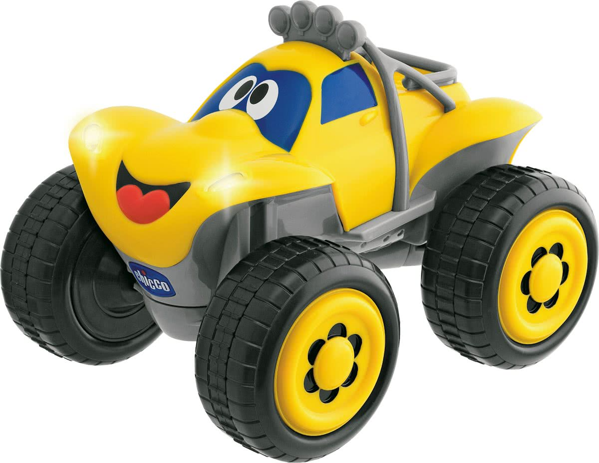 Billy Big Wheels - RC Auto - Geel