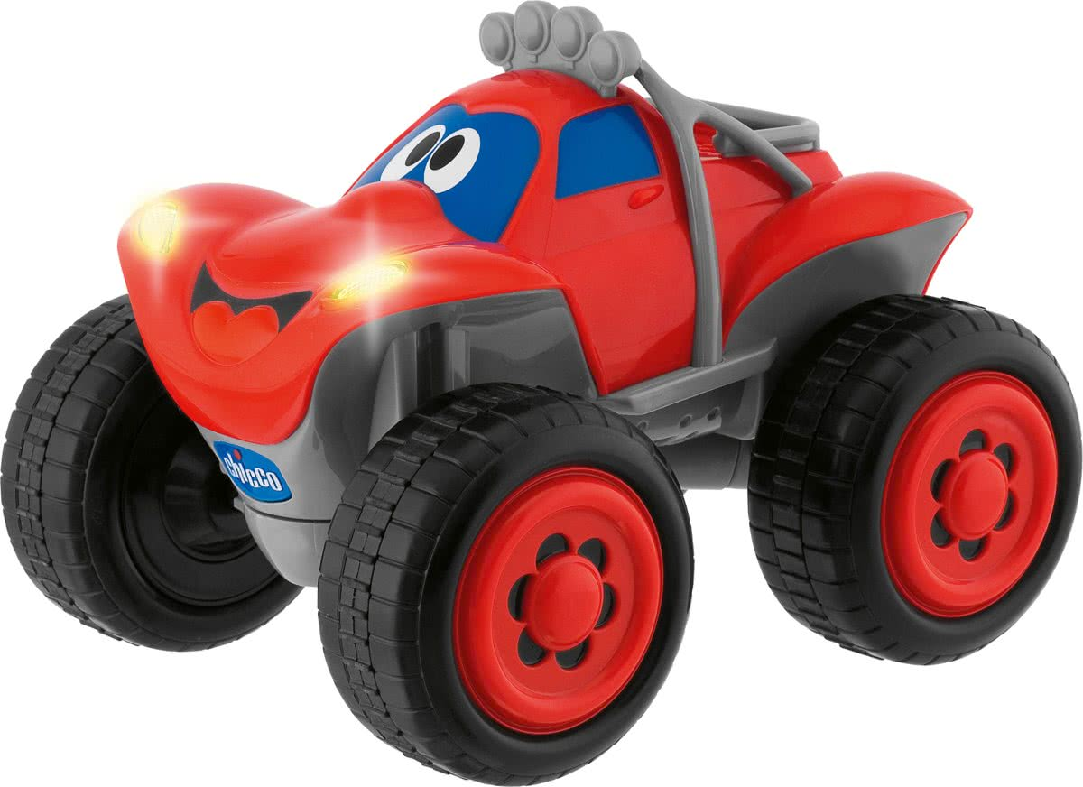 Billy Big Wheels - RC Auto - Rood