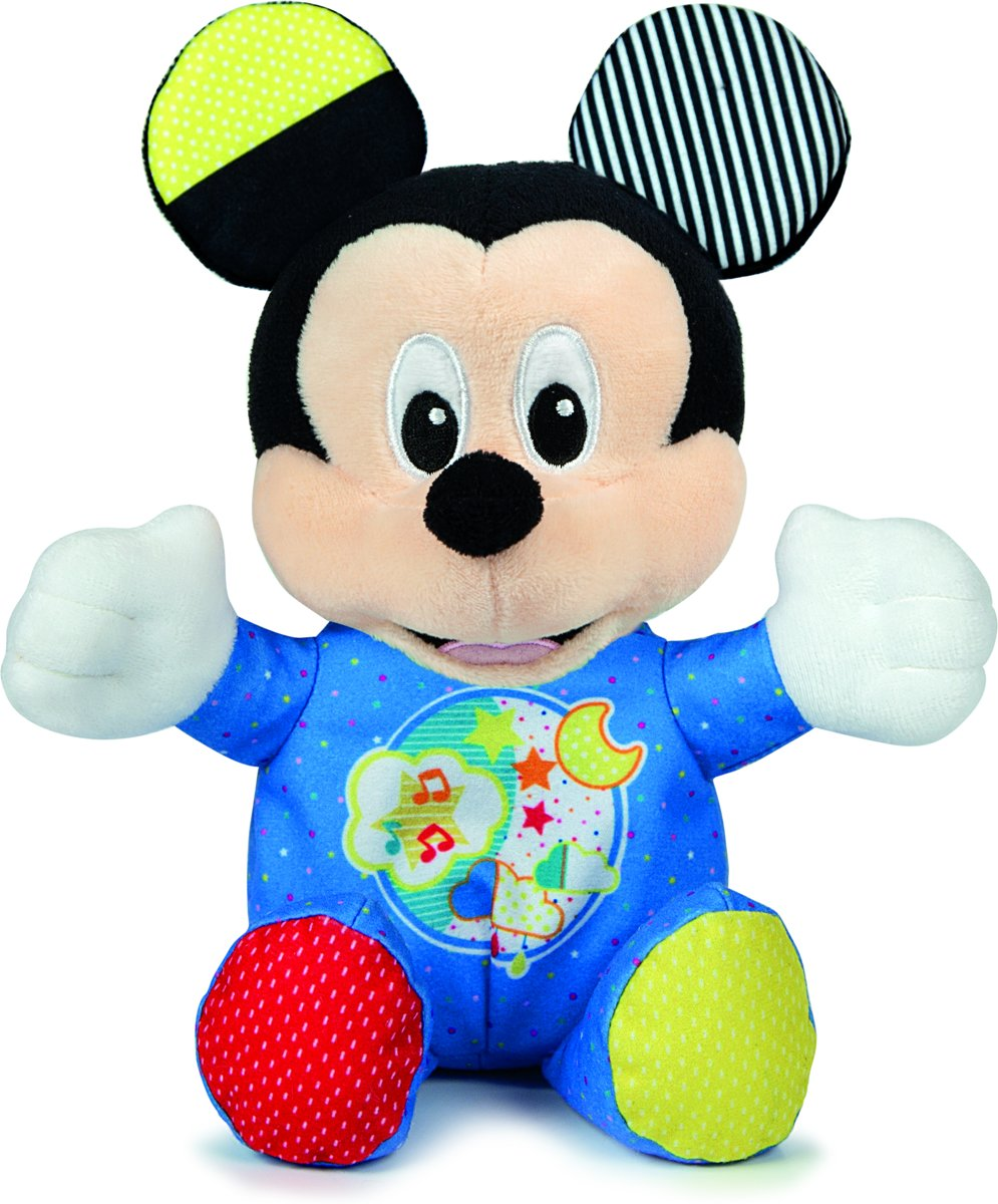 Clementoni - Baby Mickey Lichtgevende Knuffel