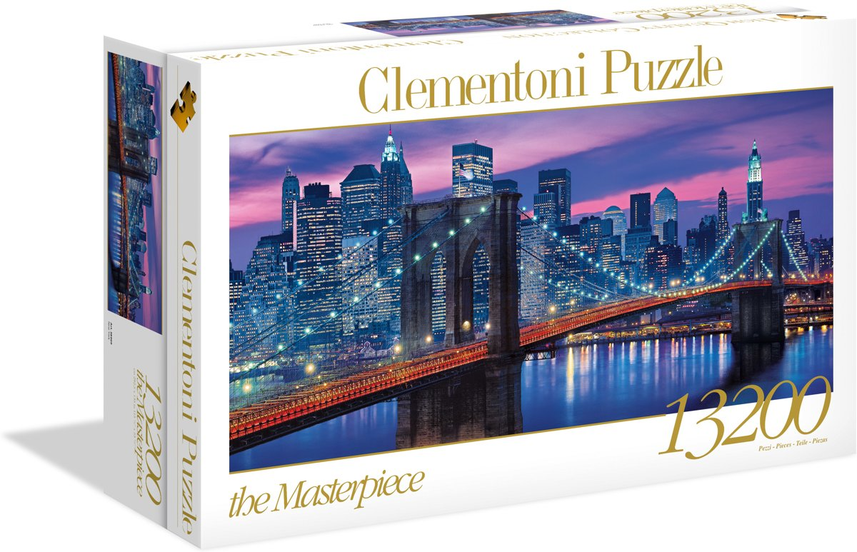 Clementoni - High Quality Collection puzzel - New York - 13200 stukjes