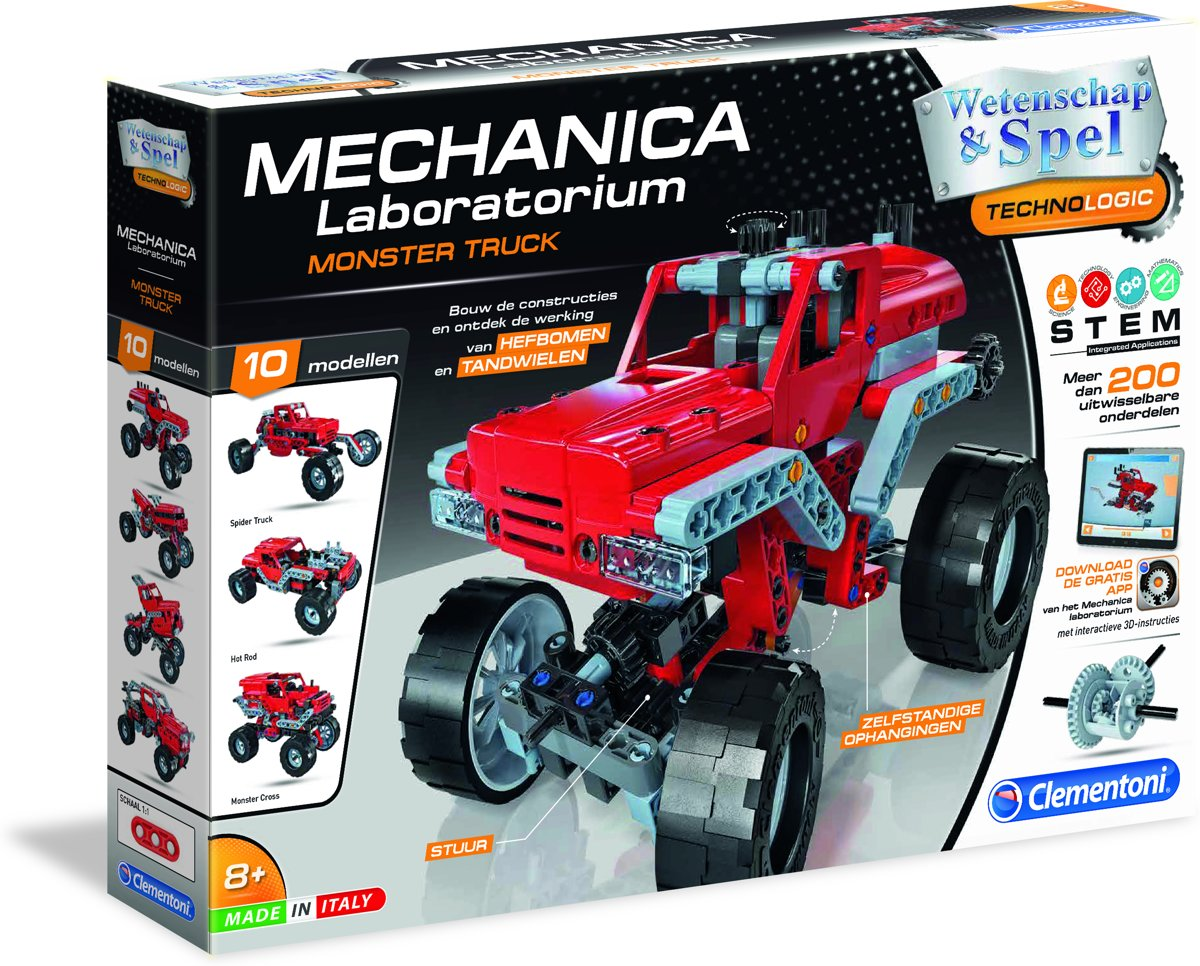 Clementoni - Mechanica Laboratorium - Monstertrucks