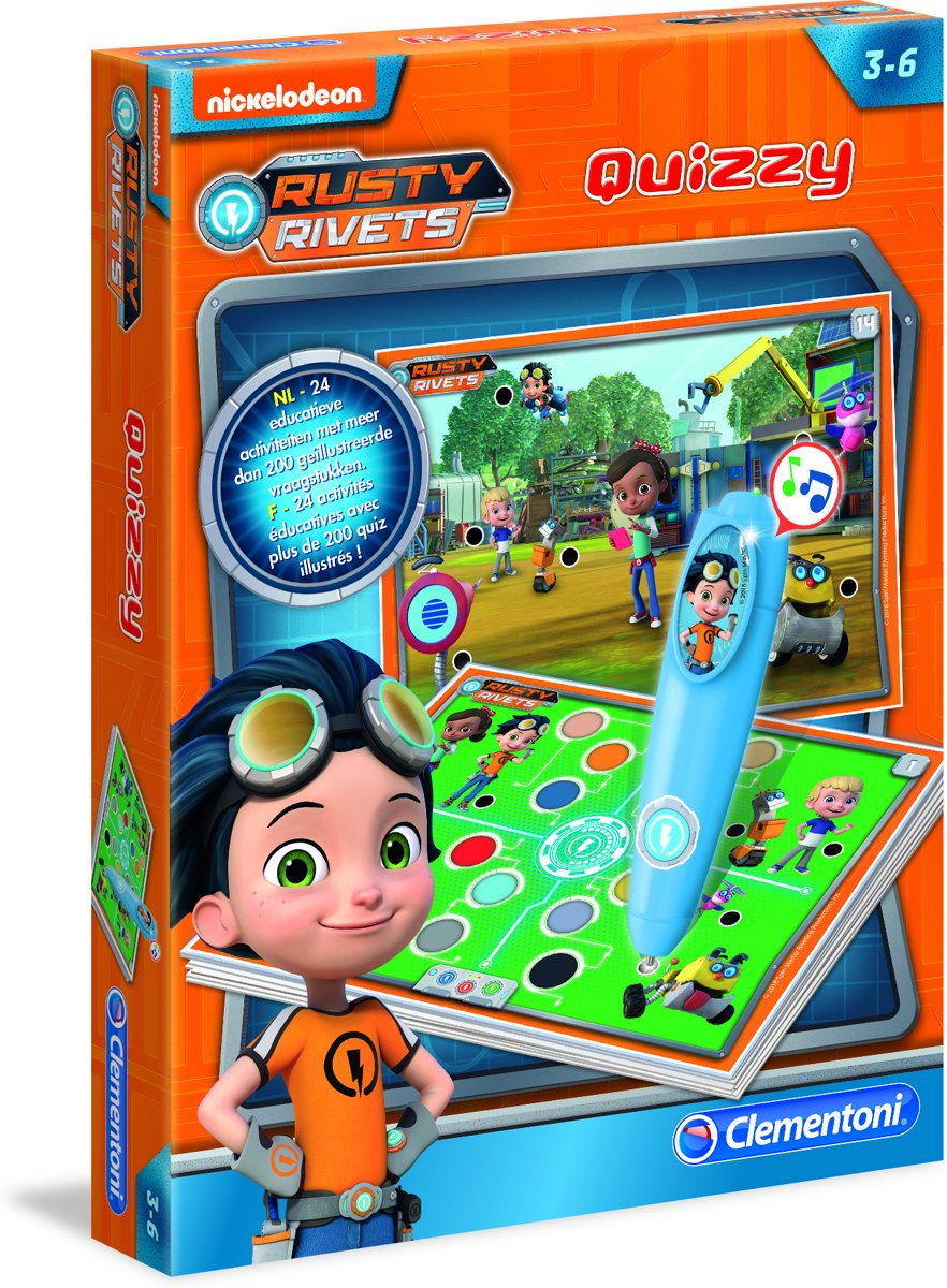 - Quizzy Rusty Rivets
