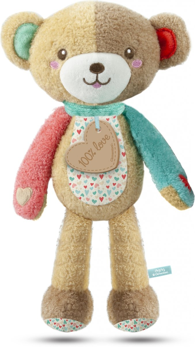 Knuffelbeer Play With Me Bruin 32 Cm