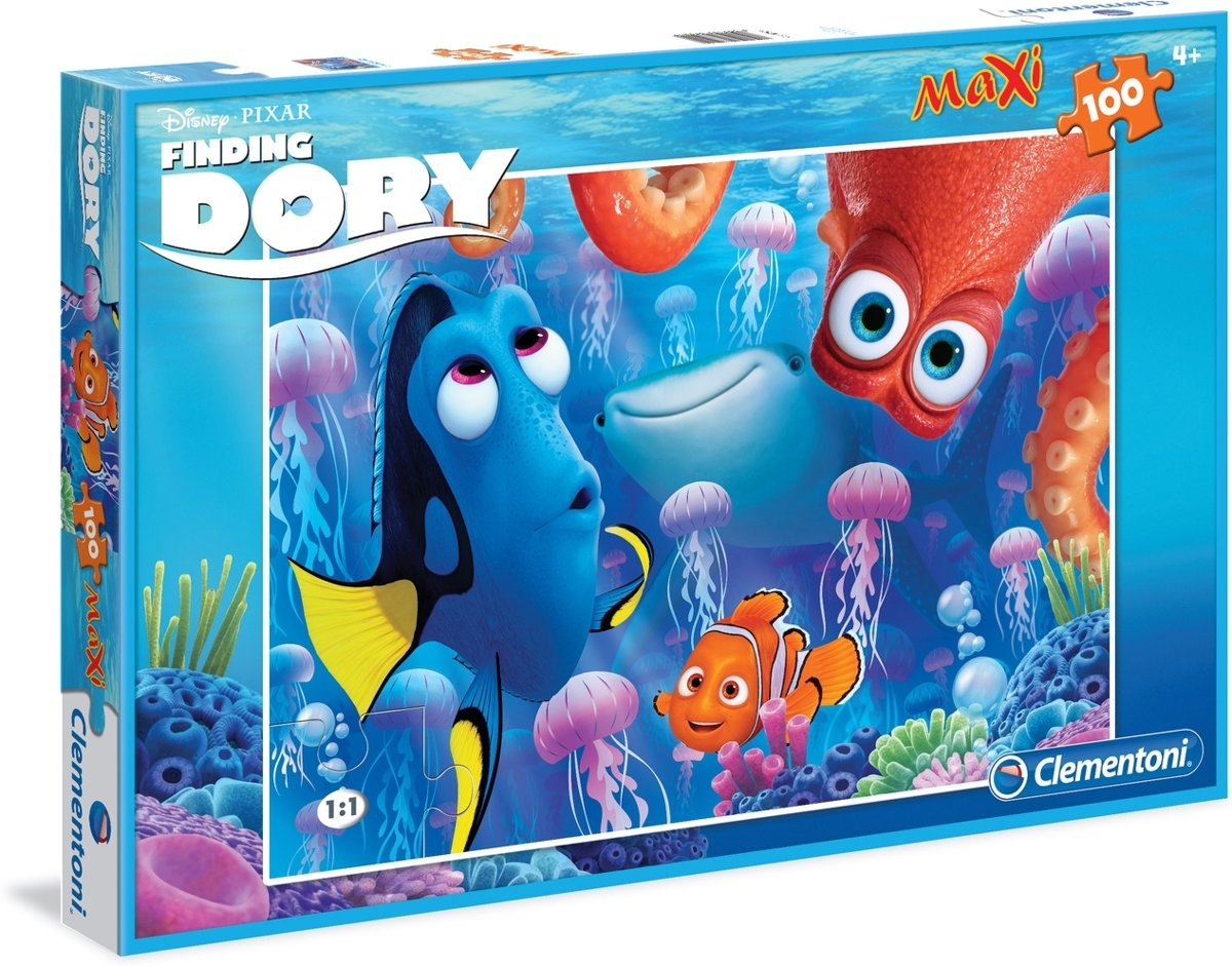 Finding Maxi Dory Puzzel 100st