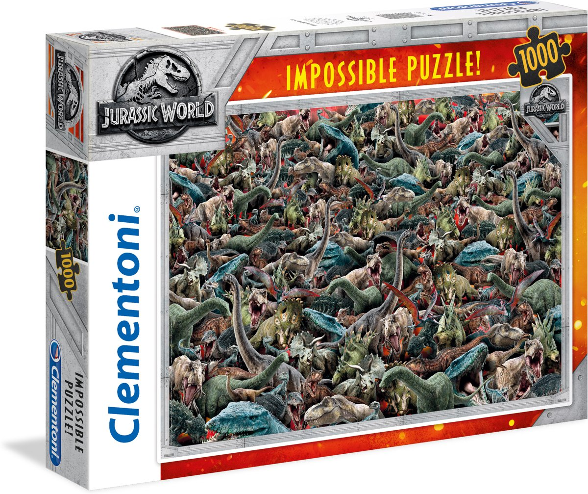 PUZZEL 1000 IMPOSSIBLE JURASSIC WORLD