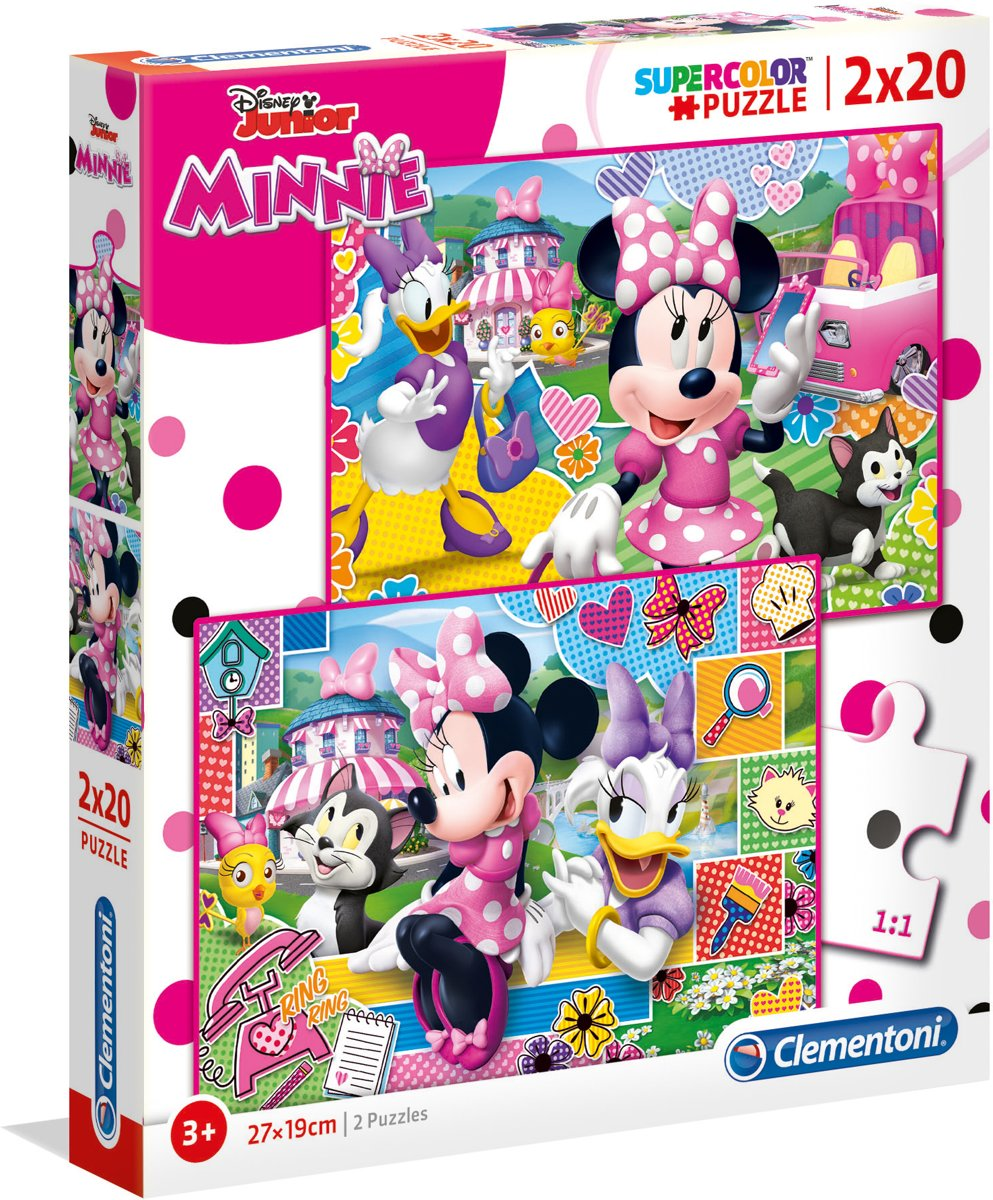 PUZZEL 2X20 MINNIE HAPPY HELPERS
