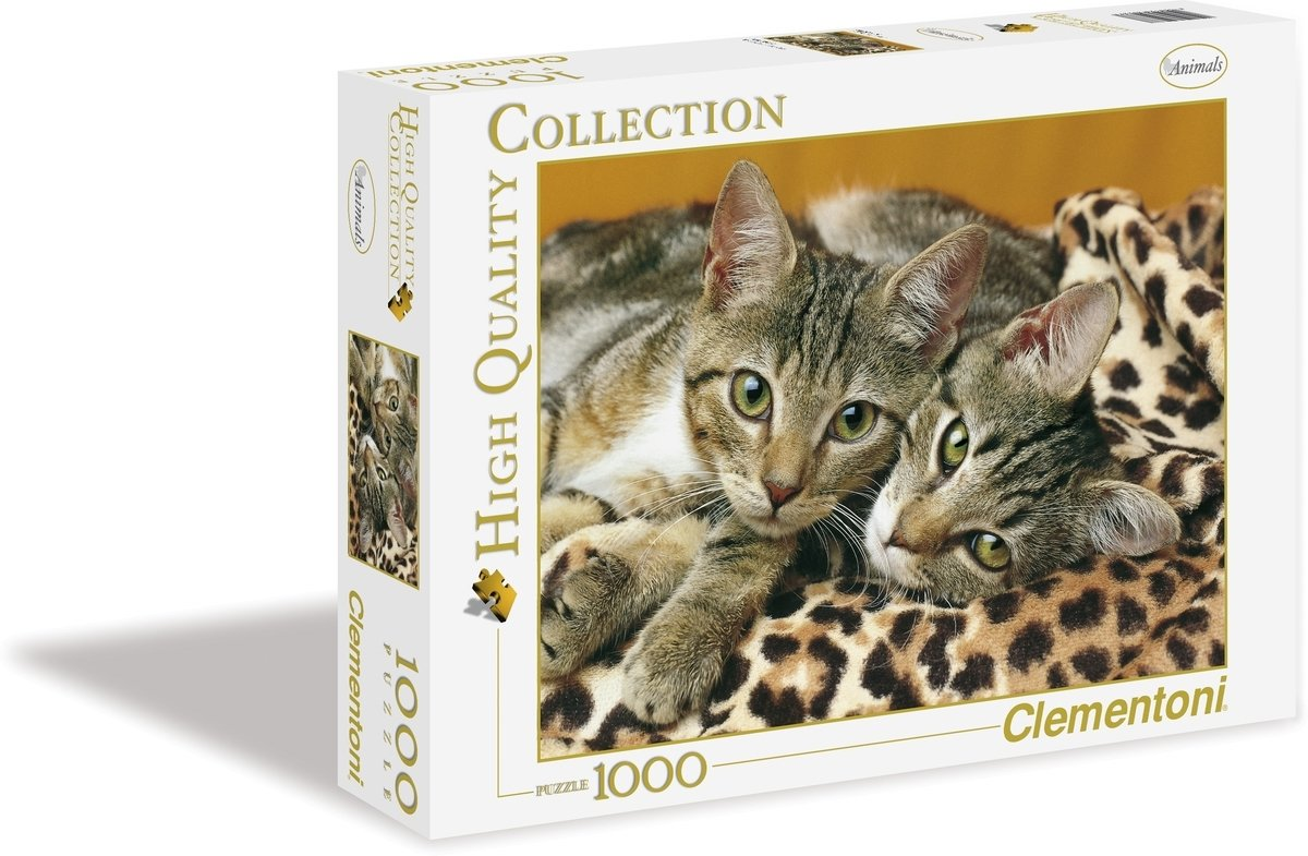 Puzzel 1000 Eyes Of Cats