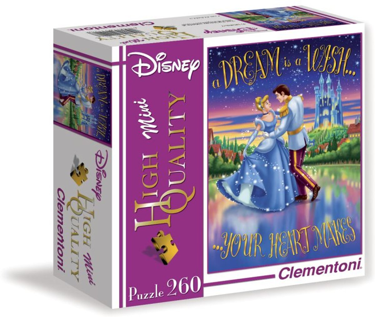 Puzzels Mini High Quality Disney - 260 stuks