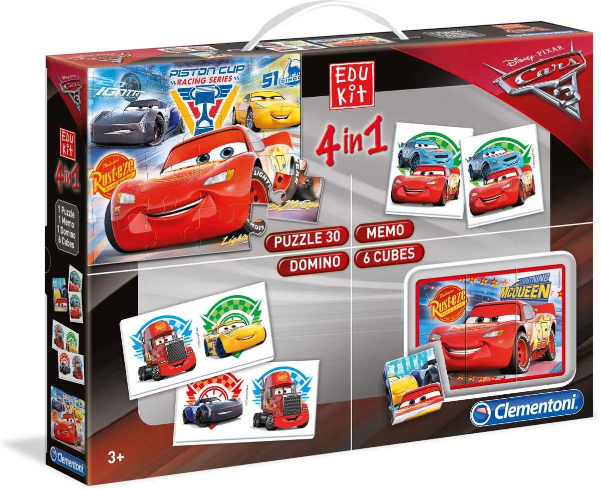 Superkit Disney Cars 3 4 in 1