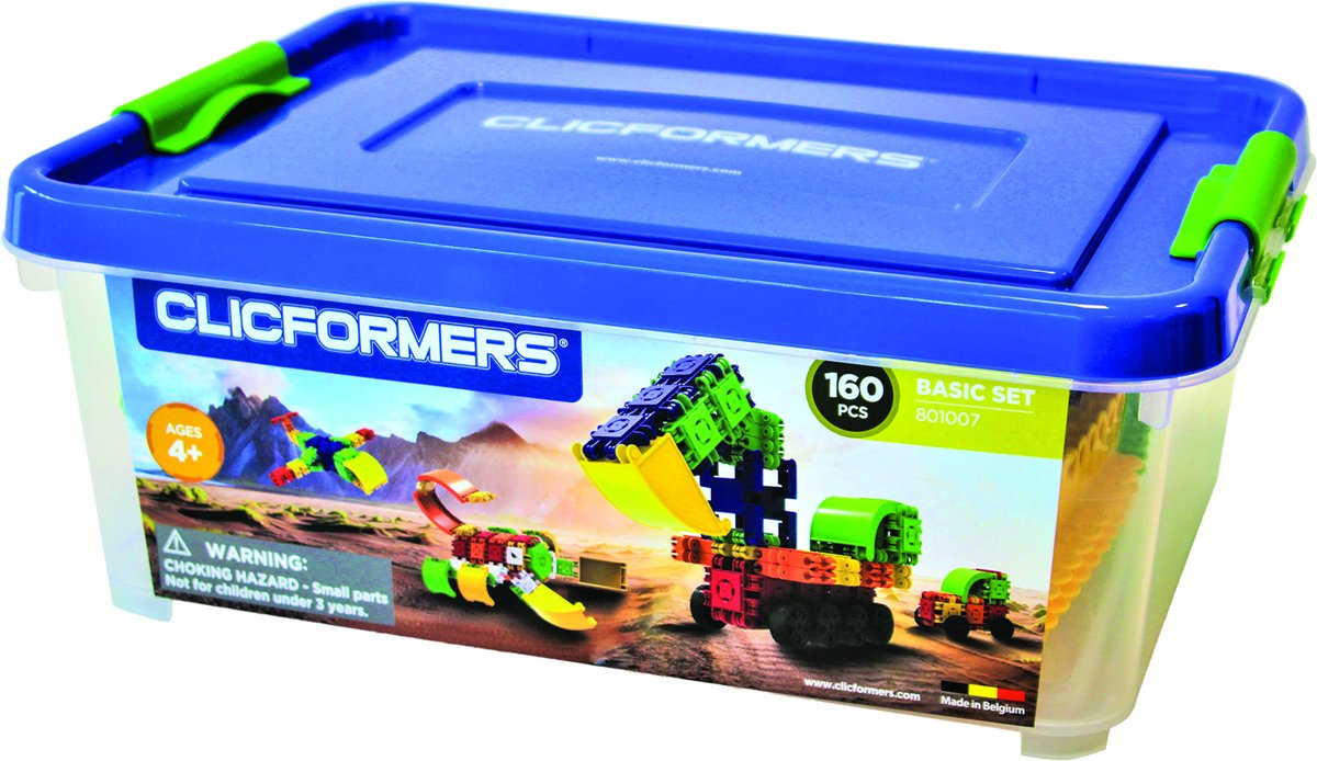 Clicformers - Basic Set - 160 pcs