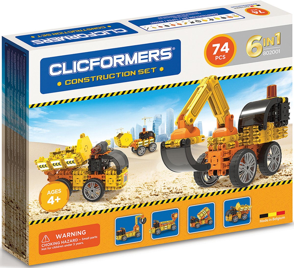 Clicformers - Construction Set