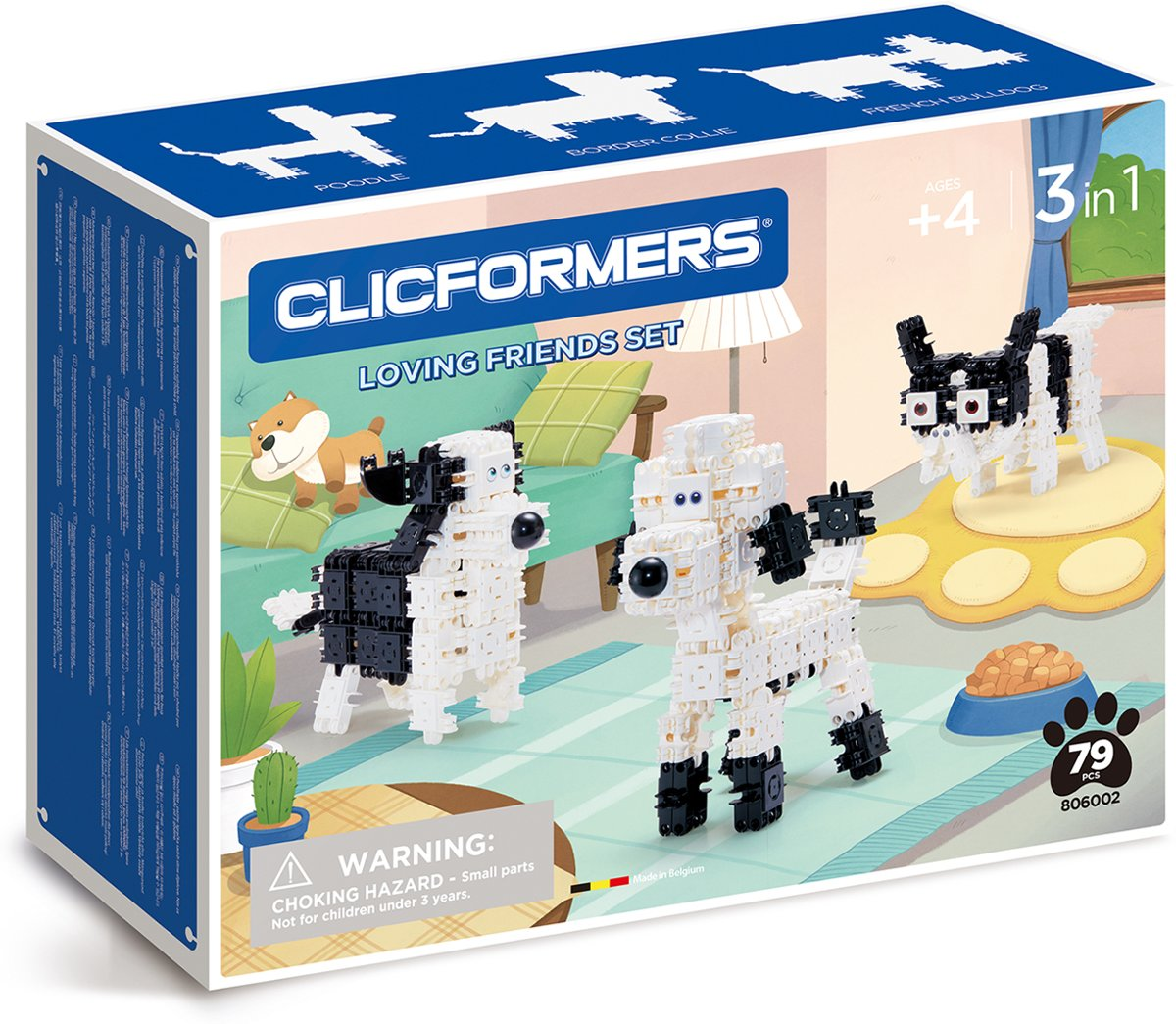 Clicformers - Loving Friends Set - 79 pcs