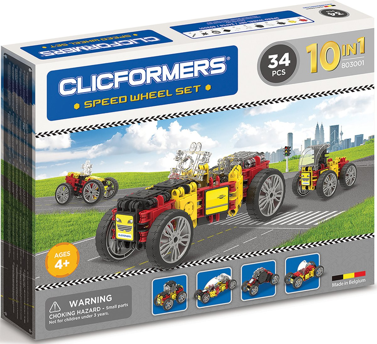 Clicformers - Speed Wheel Set - 34 pcs