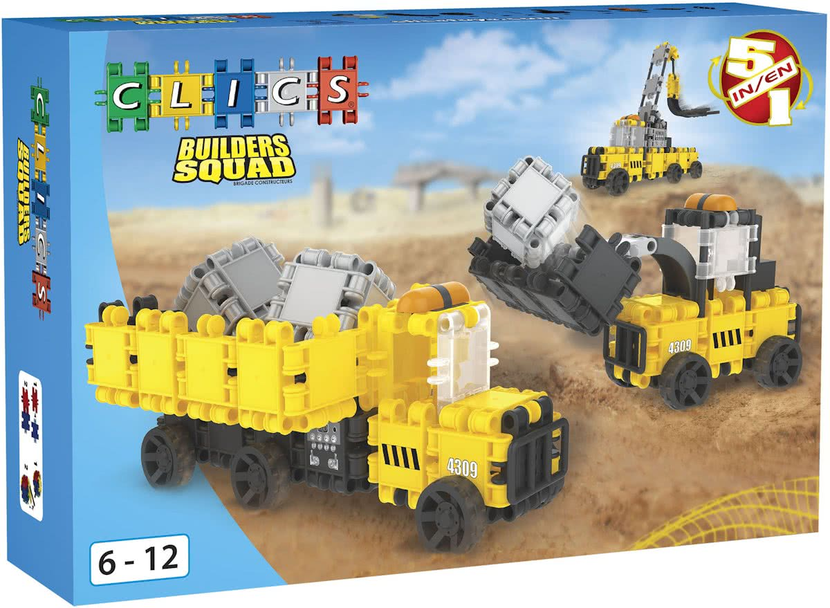 Clics Builders Squad Box 5 in 1