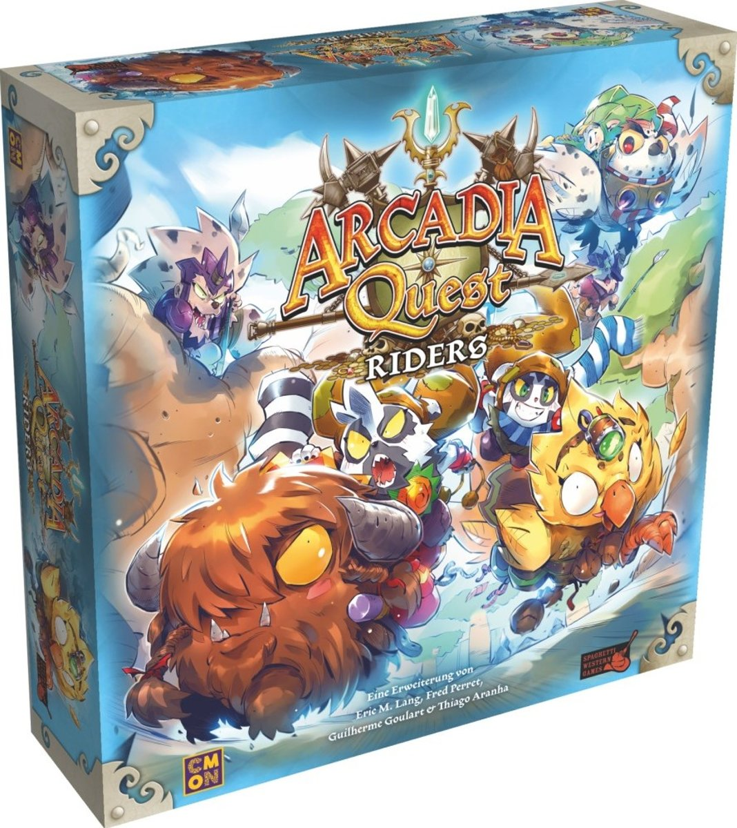 Arcadia quest Riders expansion