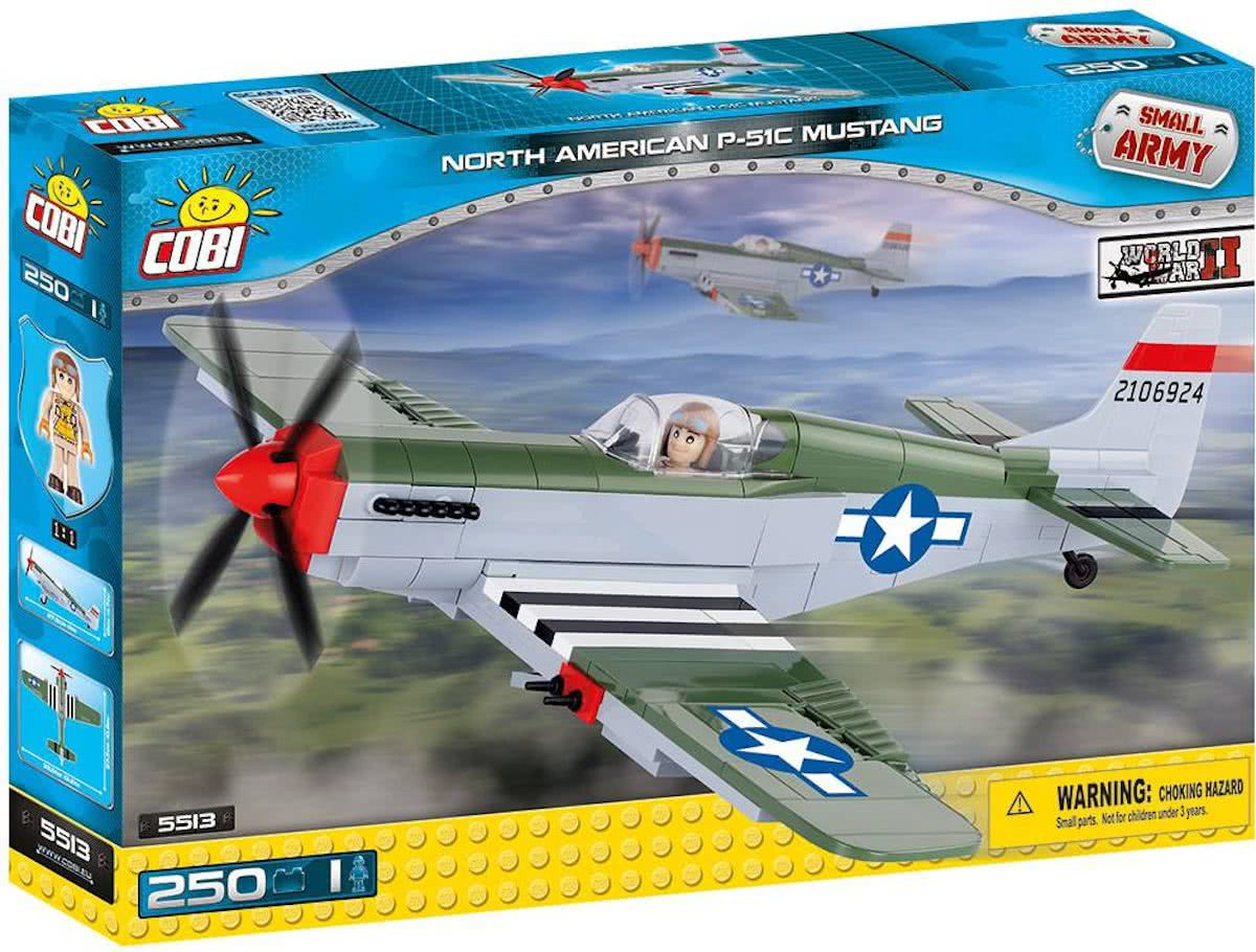 Cobi - Small Army WW2 - North American P-51C Mustang (5513)