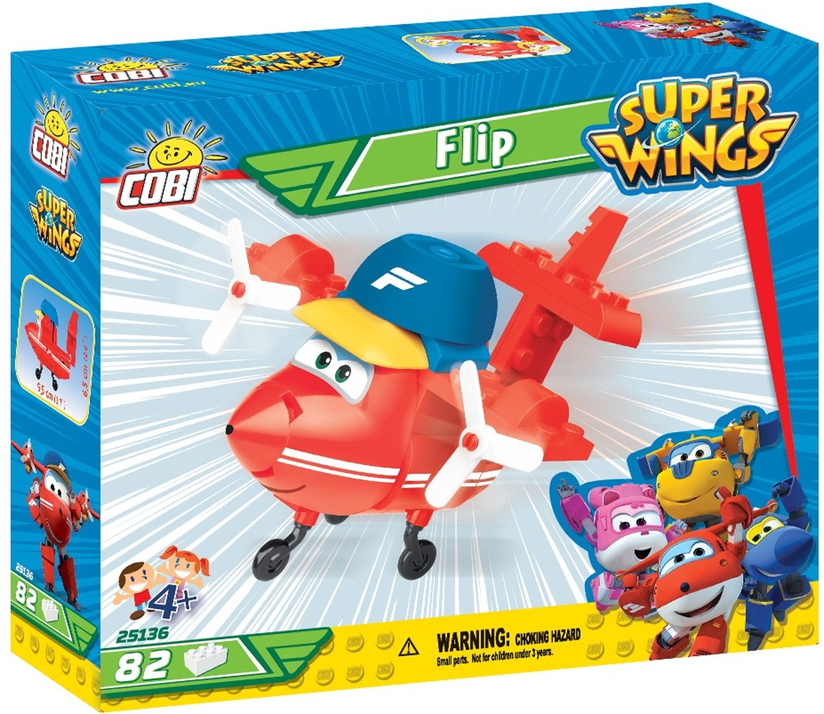 Cobi 101 Pcs Super Wings /24136/ Flip