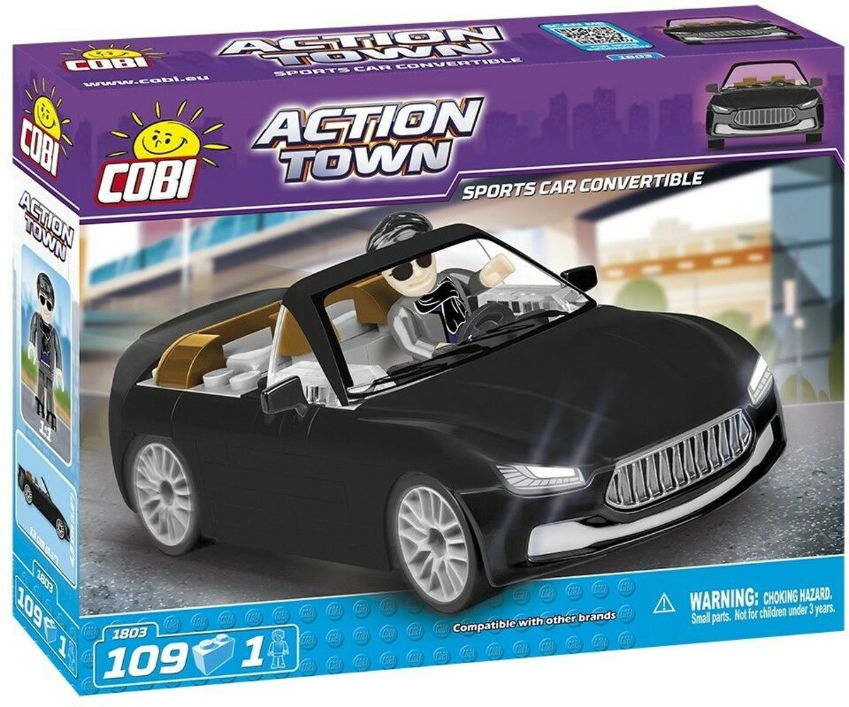 Cobi 109 Pcs Action Town /1803/ Sports Car Convertibl