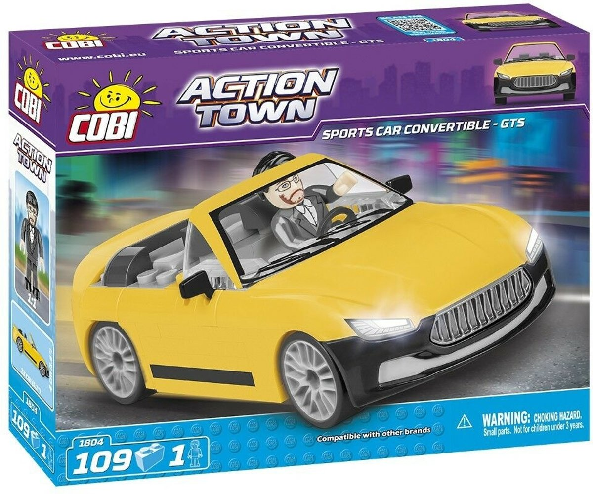Cobi 109 Pcs Action Town /1804/ Sports Car Convertibl