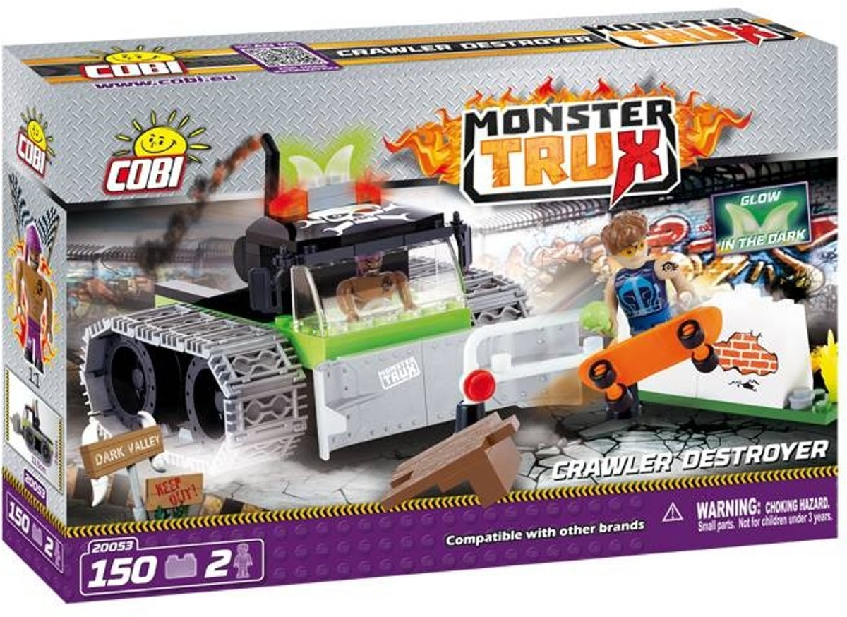 Cobi 150 Pcs Monster Trux /20053/ Crawler Destroyer
