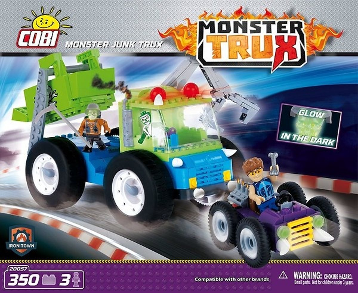 Cobi 360 Pcs Monster Trux /20057/ Monster Junk Truck