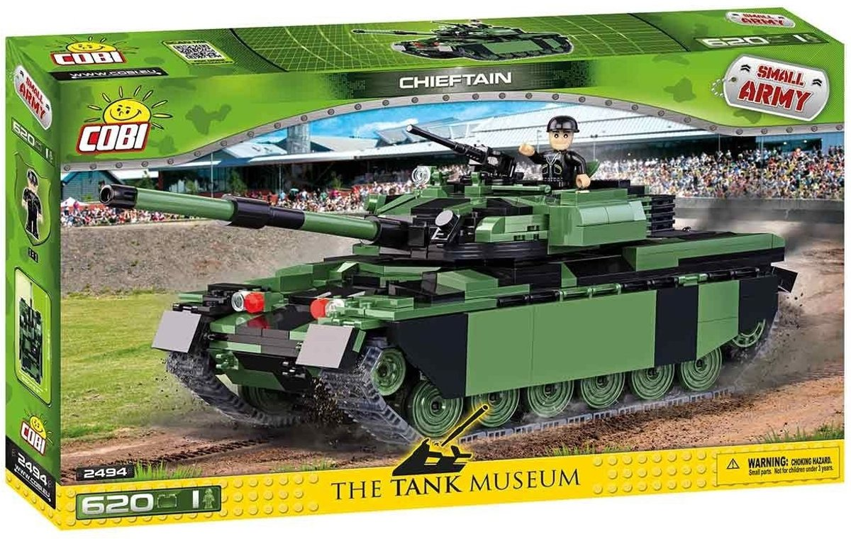 Cobi 620 PCS SMALL ARMY /2494/ CHIEFTAIN