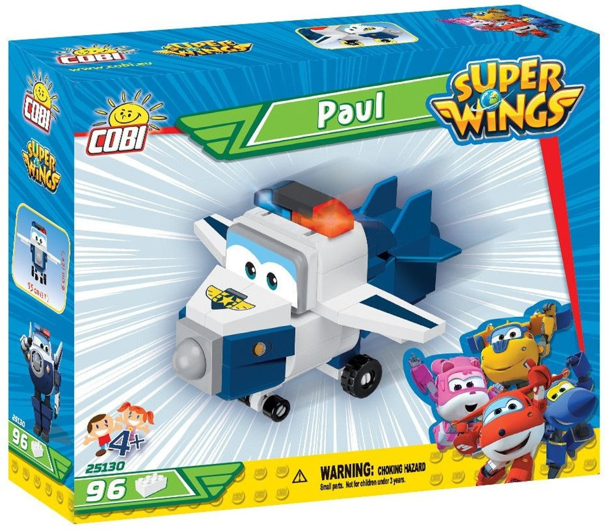 Cobi 97 Pcs Super Wings /25130/ Paul
