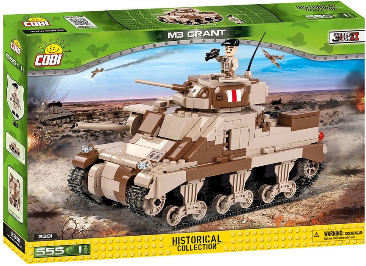 Cobi Historical Collection Bouwset M3 Grant 555-delig 2391