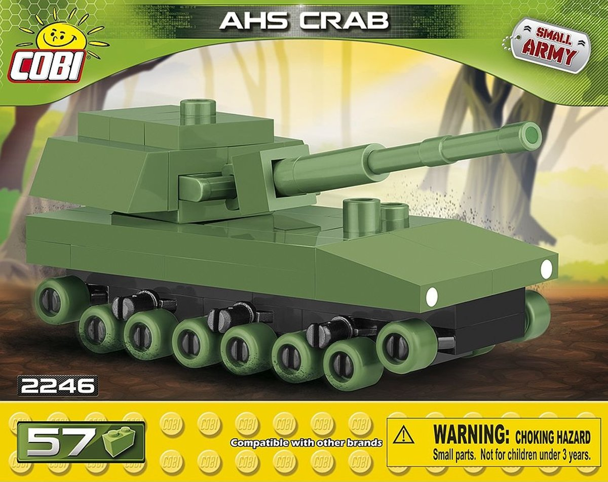 Cobi Small Army Ahs Crab Bouwset 57-delig 2246