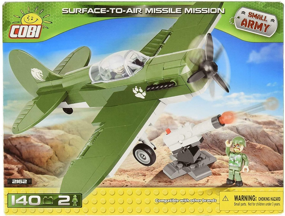 Cobi Small Army Air Missile Mission Bouwset 140-delig 2162
