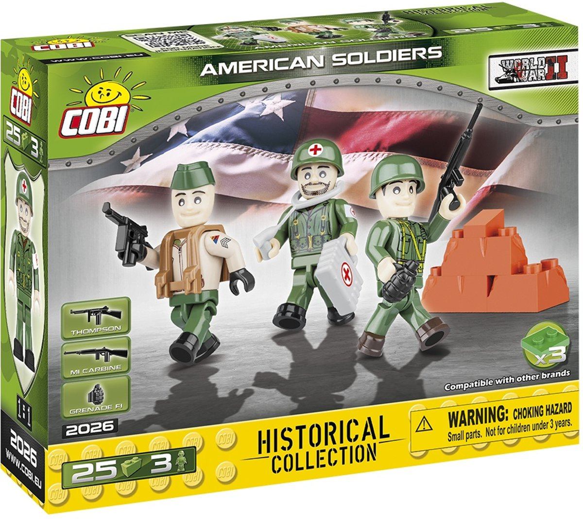 Cobi Small Army Bouwset American Soldiers 33-delig 2026