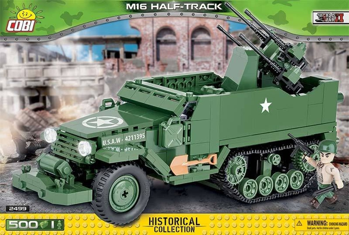 Cobi Small Army Bouwset M16 Half-track 503-delig 2499