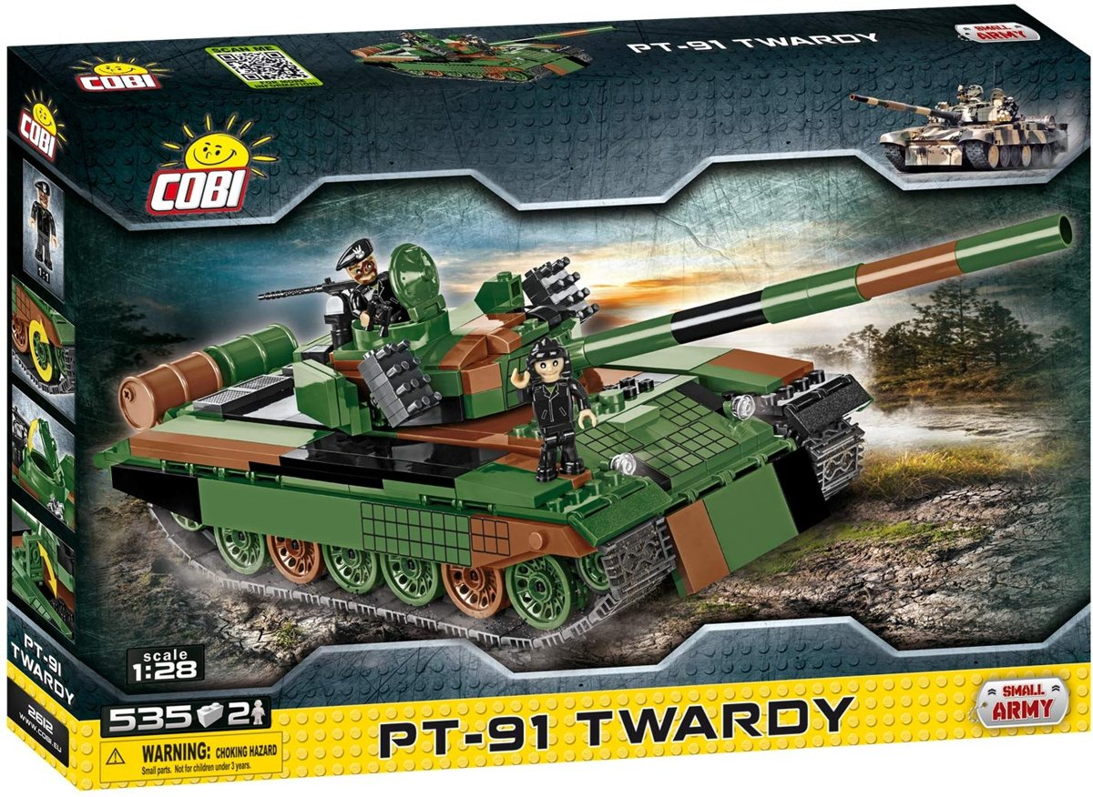 Cobi Small Army Bouwset Pt-91 Twardy 537-delig 2612