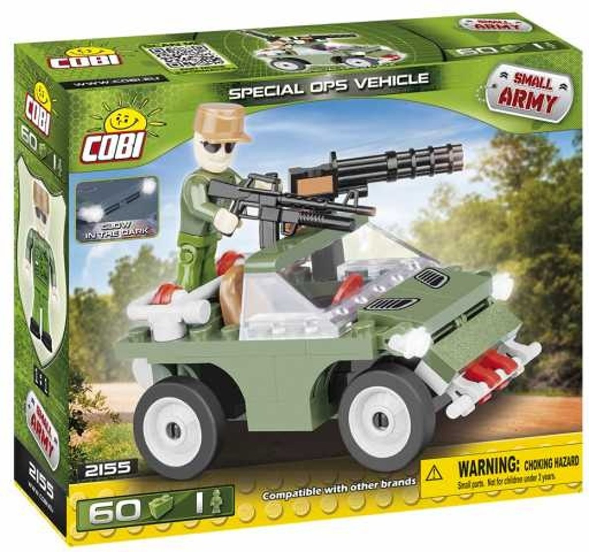 Cobi Small Army Special Ops Vehicle Bouwset 60-delig 2155